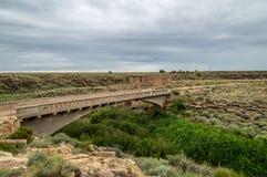 Стародедовские руины индейца Стоковое Фото
