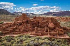 Стародедовские руины индейца Стоковые Изображения RF
