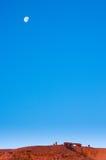 стародедовские руины луны сумрака Стоковая Фотография