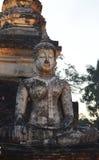 Стародедовские статуи Будды Стоковое Изображение