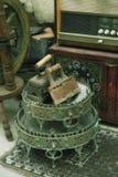 стародедовские утюги Стоковые Фото