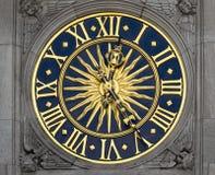 Стародедовские часы Стоковые Фото
