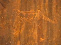 Стародедовские чертежи tamenrasset Алжир Стоковое Изображение