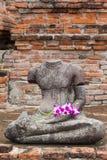 стародедовский Будда Стоковые Изображения RF