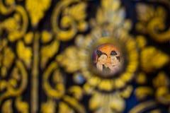 стародедовский буддийский висок настенной росписи Стоковые Фото