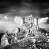 стародедовский вектор иллюстрации замока Стоковое Изображение RF