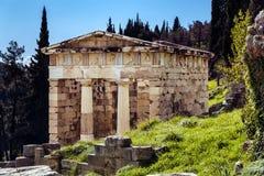 стародедовский висок грека детали Стоковое Изображение RF