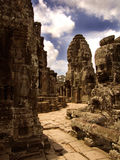 стародедовский висок Камбоджи Стоковая Фотография