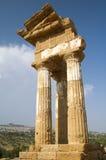Стародедовский висок Agrigento Стоковые Изображения RF