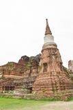 Стародедовский висок Ayutthaya стоковое изображение rf