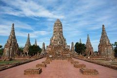 стародедовский висок ayutthaya Стоковые Фотографии RF