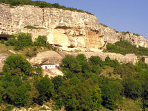 стародедовский город подземелья Стоковые Изображения RF