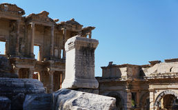 Стародедовский город Турции, Ephesus Стоковая Фотография