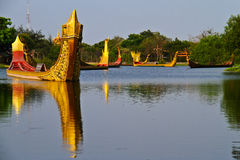 стародедовский город bangkok Стоковое Изображение