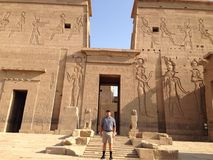 стародедовский египетский висок Стоковое фото RF
