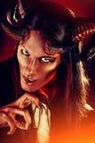 Стародедовский демон стоковые изображения rf