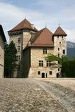 Замок, Анси, савойя, франция Стоковые Изображения