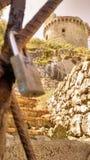 стародедовский замок Стоковое Изображение RF