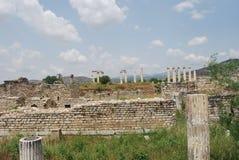 стародедовский индюк pamukkale города Стоковые Изображения RF