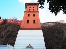 стародедовский лифт стоковая фотография rf