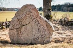 стародедовский камень rune стоковая фотография rf