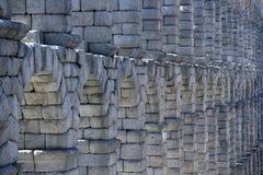 стародедовский мост-водовод римский Стоковые Изображения