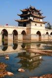 Стародедовский мост в Китае Стоковое Изображение