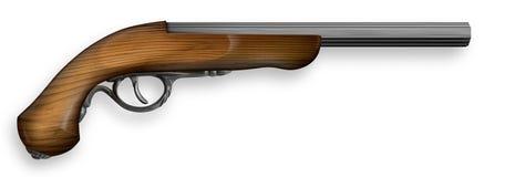 стародедовский пистолет иллюстрация штока