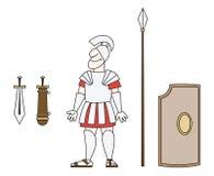 стародедовский ратник Иллюстрация штока