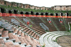 Театр Беневента стоковые фото