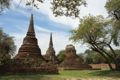 Стародедовский тайский pagoda Стоковые Изображения