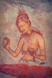 стародедовский утес картин Шри-Ланка, Sigiria Стоковые Фото