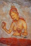 стародедовский утес картин Шри-Ланка, Sigiria Стоковая Фотография