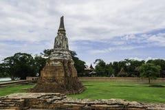 Стародедовский Pagoda & руины в Ayutthaya, Таиланде Стоковые Фото