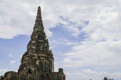 Стародедовский Pagoda & руины в Ayutthaya, Таиланде Стоковые Изображения RF