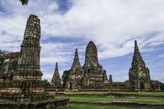 Стародедовский Pagoda & руины в Ayutthaya, Таиланде Стоковое Фото