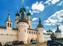 стародедовское большое наследие включило мир unesco городка России rostov списка kremlin Стоковое Изображение RF