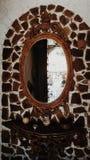 Стародедовское зеркало Стоковое фото RF