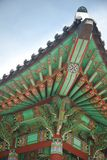 стародедовское зодчество азиатская Корея южная Стоковое Изображение RF