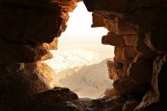 Стародедовское каменное окно Стоковые Изображения RF