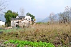 стародедовское китайское село Стоковая Фотография
