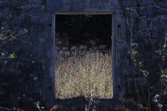 стародедовское окно Стоковые Изображения
