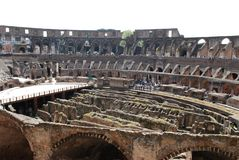 Стародедовское римское Colosseum Стоковое Изображение RF