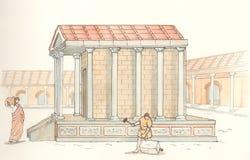 Стародедовское Рим Стоковые Изображения RF