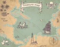 стародедовское сокровище карты бесплатная иллюстрация