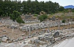 стародедовское ephesus города стоковое изображение rf