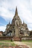 Стародедовское Stupa в Ayutthaya Стоковое Изображение