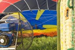 старт воздушного шара горячеломкий Стоковое Фото