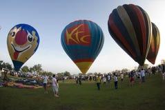 старт воздушного шара резвится стадион Стоковые Изображения RF