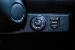 Старт и стоп двигателя кнопки Стоковые Изображения RF